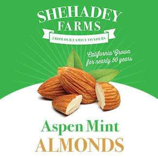 Aspen Mint Almonds