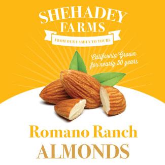 Romano Ranch Almonds